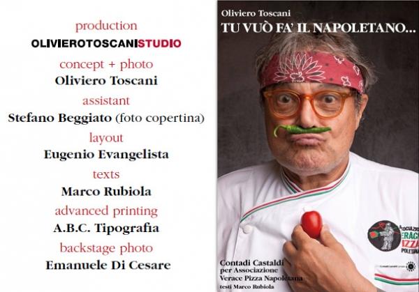 Oliviero Toscani 100% pizza!