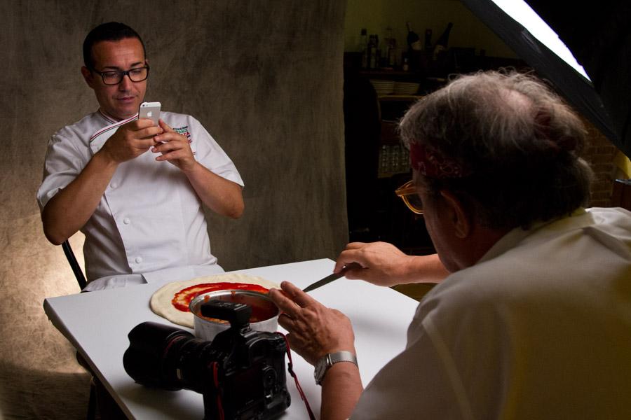 Oliviero Toscani 100% pizza! -